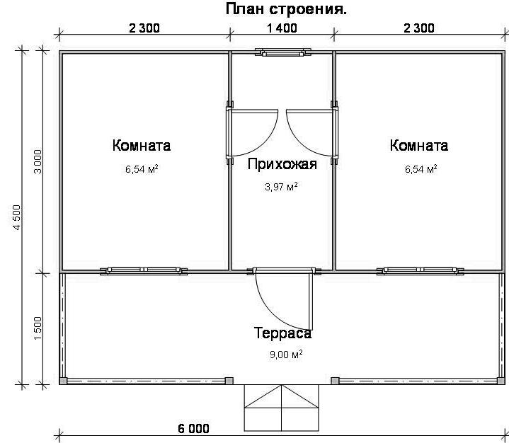 Построить дом своими руками 6 на 4